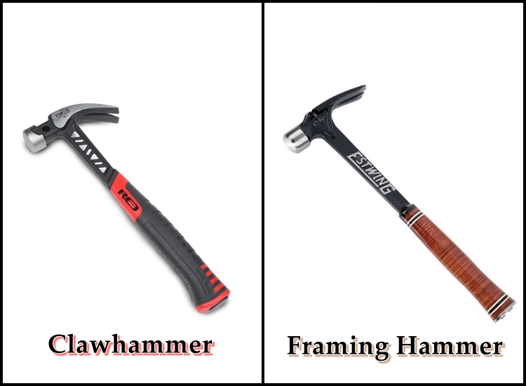 Differences Between Clawhammer and Framing Hammer
